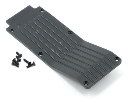 RPM T/E-Maxx 1.5 / 2.5 Center Skid/Wear Plate Bk.
