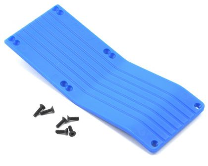 RPM Center-Skid Plate Set blau E-Maxx Neu