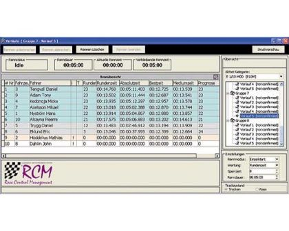 Robitronic RCM Advanced Software