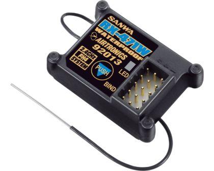 SSL Empfänger 4-Kanal 2,4GHz FH4-107A41257A Sanwa RX-482 Telemetrie