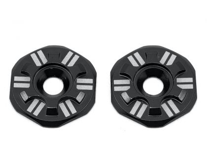 Schelle Racing Asterisk Wing Buttons Black