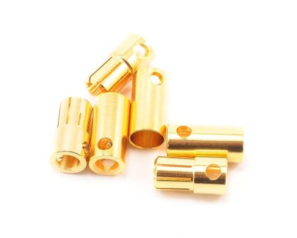 Tekin Solid High Power 6.5mm Gold Connector 3 sets