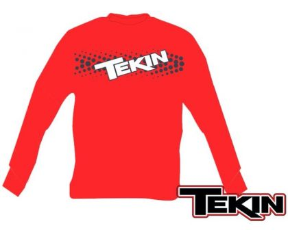 Tekin Fuzion 2 Long Sleeve Red M