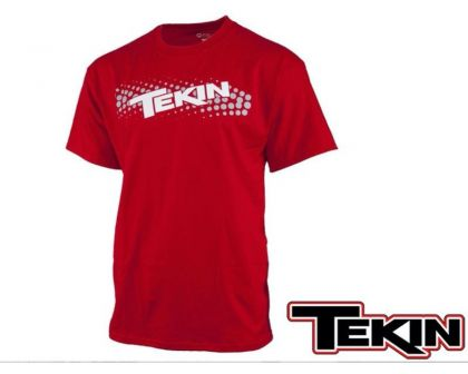 Tekin Fuzion 2 Woman T-shirt Red XL
