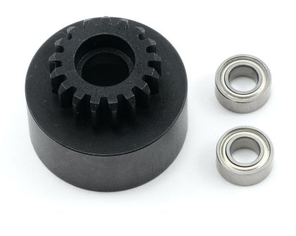 Tekno RC 1/8th Clutch Bell hardened steel Mod 1 17 Zähne
