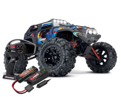 Traxxas Summit RTR Brushed 2018 mit Licht RocknRoll