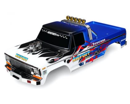 Traxxas Karosserie Bigfoot Flame Officially Licensed Replica