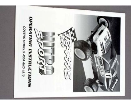 Traxxas OWNER S MANUAL NITRO SPORT