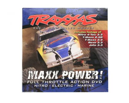 Traxxas DVD MAXX POWER