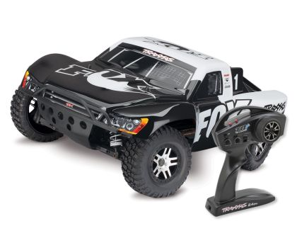 Traxxas Slash 4x4 Brushless Fox Racing mit TQ Wireless ohne Akku