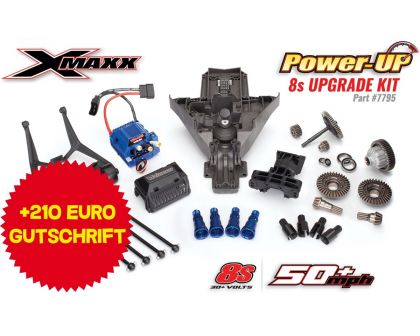 Traxxas XMAXX 8S PowerUp Upgrade-Kit