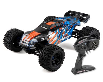 Traxxas E-Revo Brushless 2.0 Orange TSM 2018 mit TQ Wireless ohne Akkus
