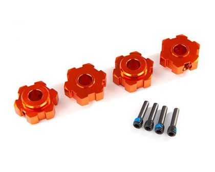 Traxxas TRX8956T 6Kant-Radmitnehmer Alu orange