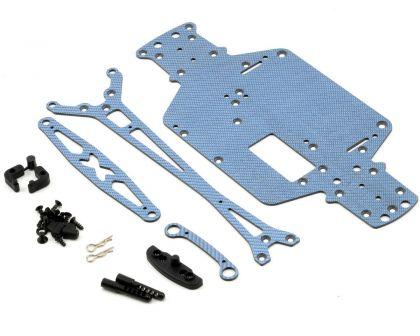 XRAY M18 Pro Lipo Graphite Set - Blue