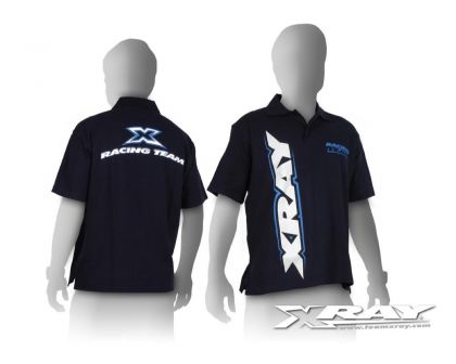 XRAY TEAM Authentic Stylish Polo Shirt Blau S