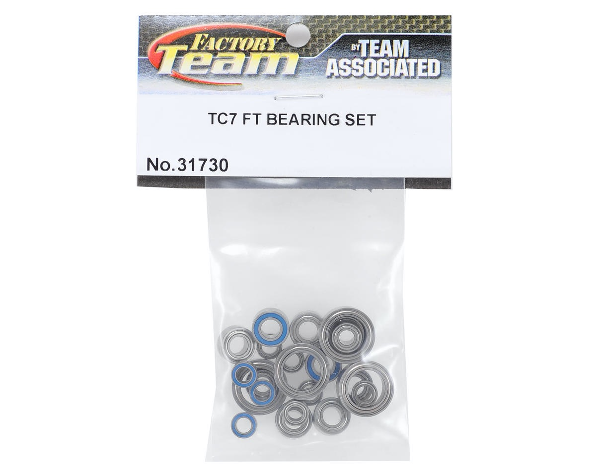 Team Associated Ft Tc7 Bearing Set Asc31730 Rc Model Vehicle Parts & Accs