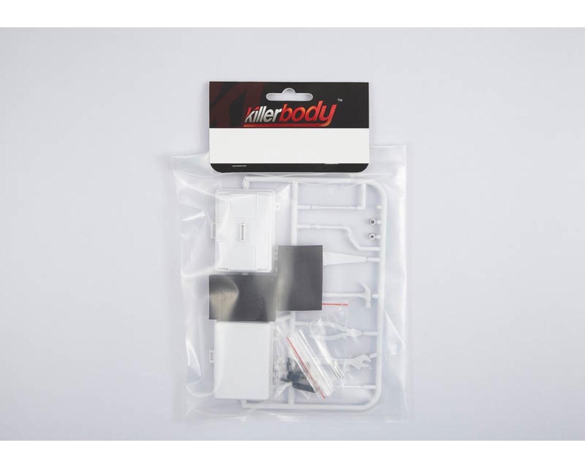 killerbody werkzeugkoffer mit werkzeug unlackiert kb48522. Black Bedroom Furniture Sets. Home Design Ideas