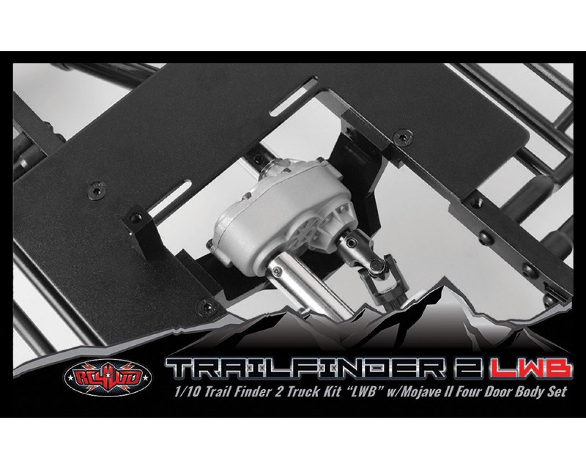 Rc4wd Mojave II Four Door Front CAB Primer Gray z-b0120 tf2 Trail finder LWB