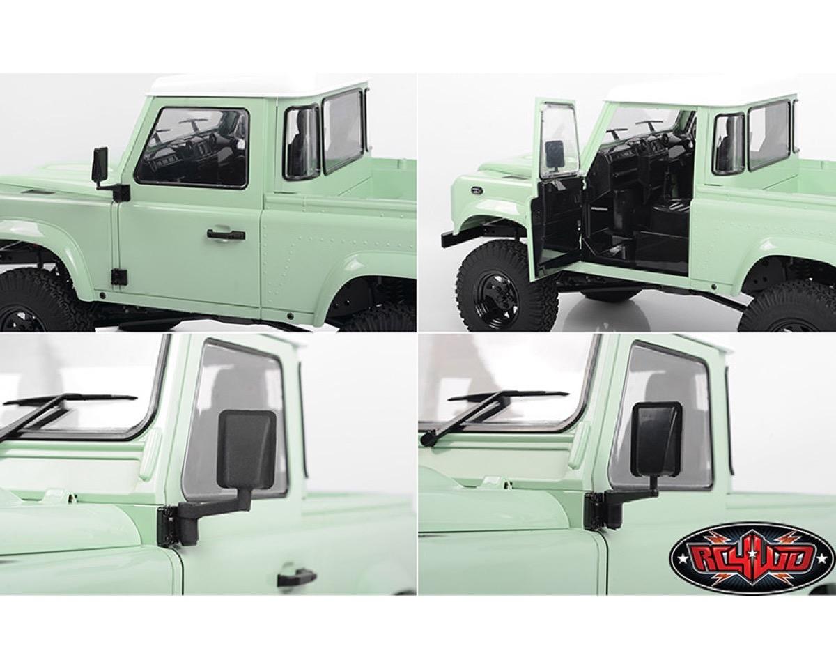 Rc4wd Gelande Ii Rtr 2015 Land Rover Defender D90 Pick Up Heritage Edition Rc4zrtr0044 Mk Racing Rc Car Shop