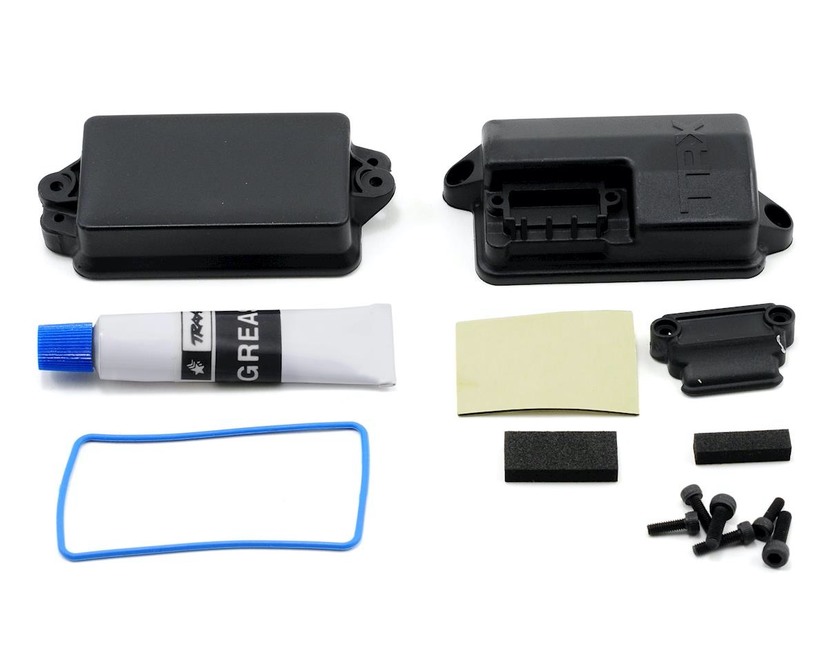 Ford Fiesta Rally Traxxas Empfänger Box gedichtet TRX7424 Slash 4x4 Slash 4x4