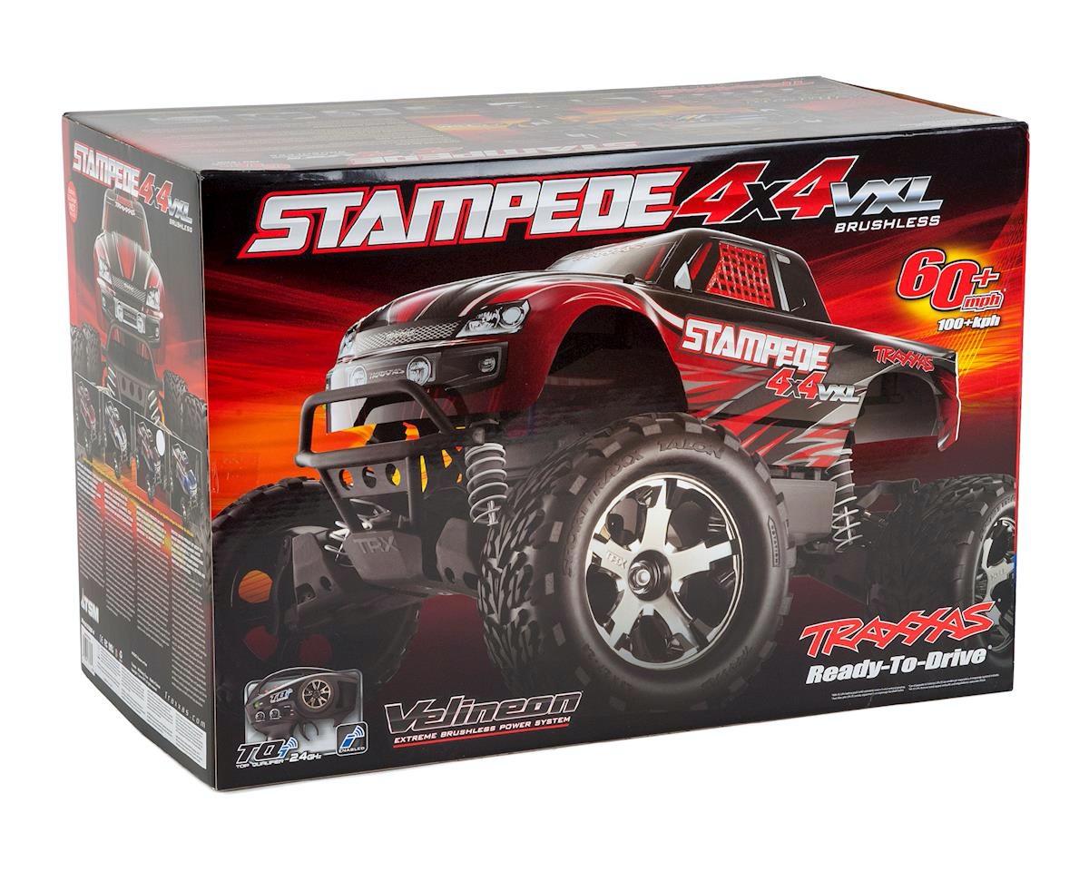 Traxxas Stampede 4x4 VXL rot TRX67086-4-RED - MK Racing RC