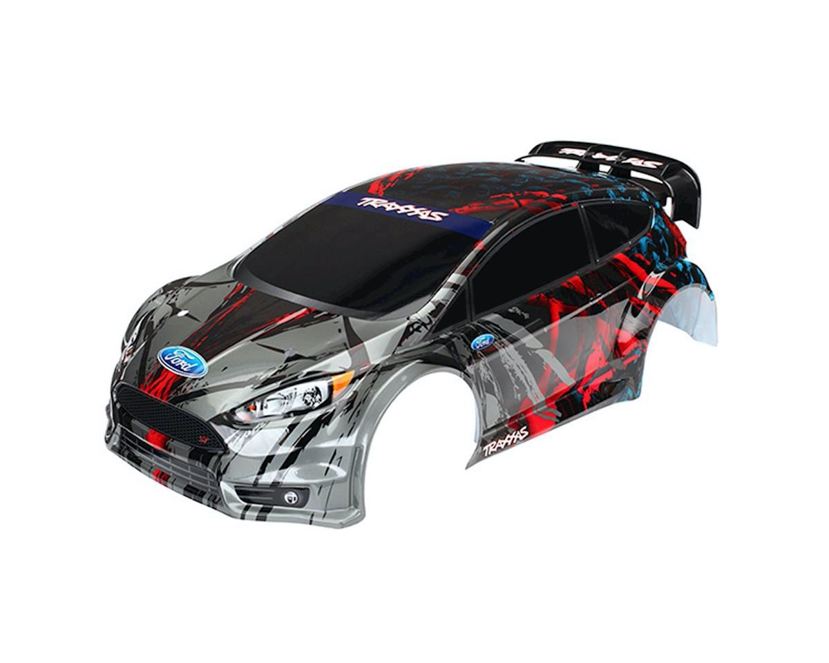 traxxas karosserie ford fiesta st rally lackiert trx7416. Black Bedroom Furniture Sets. Home Design Ideas