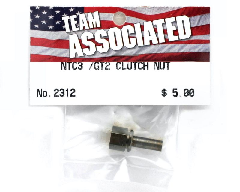 Team Associated Clutch Nut Adapter for threaded crank