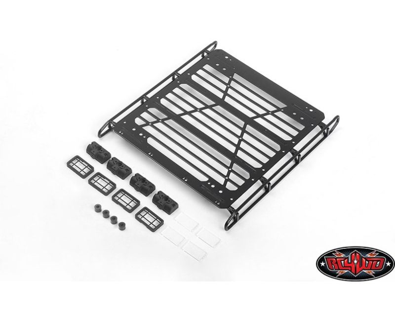 RC4WD Adventure Steel Roof Rack Front and Rear Lights RC4VVVC0923