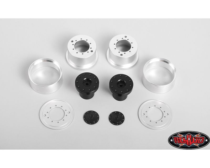RC4WD 1.7 Aluminum Rear Beadlock Wheels for Overland Truck RC4VVVS0241