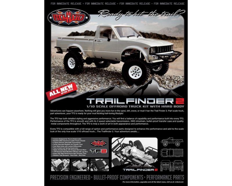 RC4WD Trail Finder 2 Truck Kit w/Mojave II Body Set RC4ZK0049 - MK
