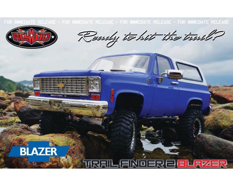 RC4WD Trail Finder 2 RTR Chevrolet Blazer Body Set