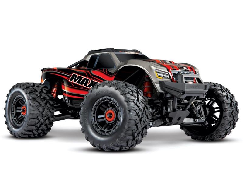 Traxxas Maxx 1/10 Monster Truck RTR rot TRX89076-4-RED