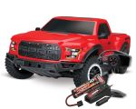 Traxxas Ford Raptor F-150 rot
