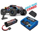 Traxxas Maxx 1/10 Monster Truck RTR Rock N Roll Gold Plus Combo TRX89076-4-RNR-GOLD-PLUS-COMBO